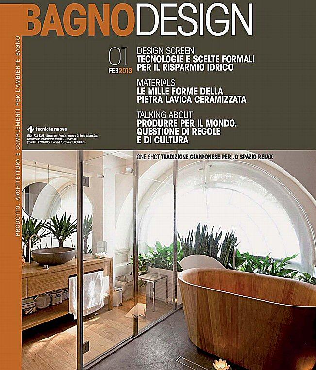 Riviste arredamento bagno fabulous riviste arredo bagno for Riviste di design