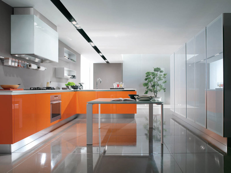 Cucine Moderne, EUROMOBIL Mod. Filovanity Top