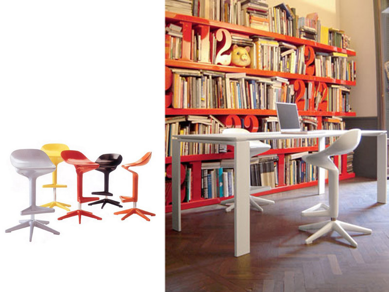 Office furniture kartell for Office design history