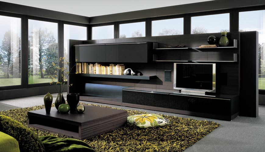 Modern Living Area Misura Emme Mod European Contemporary
