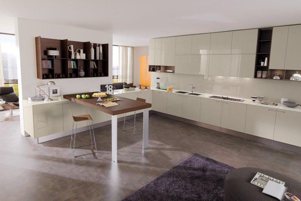 Modern Kitchens, EUROMOBIL Mod. Assim