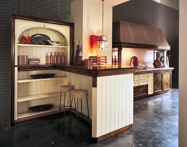 Cucine classiche acquacotta by marchetti la cucina - Cucine classiche in legno ...