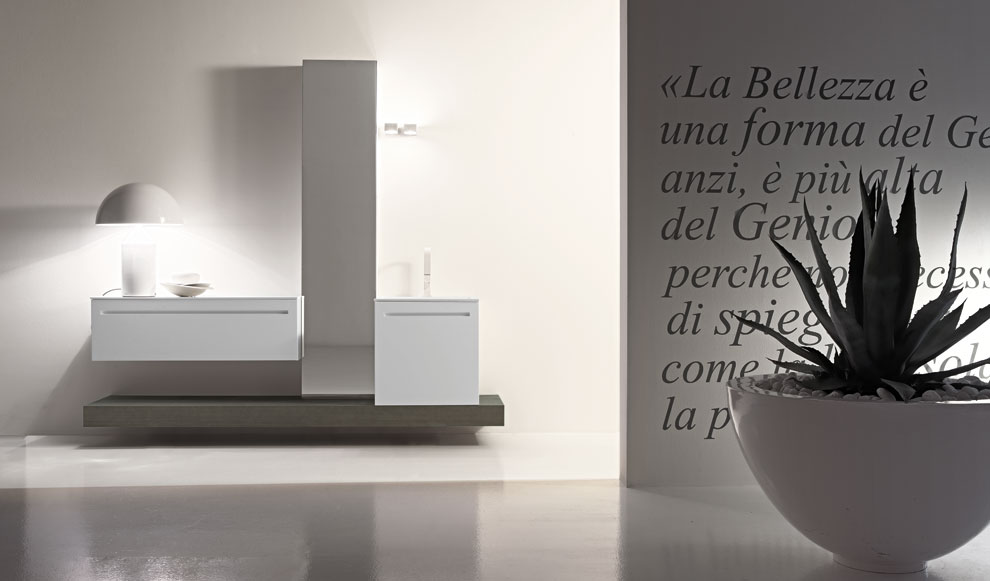 Design bathrooms edon the highest expression of made in - Accessori bagno moderno ...