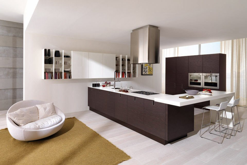 Cucine Moderne, Euromobil Living and Cooking
