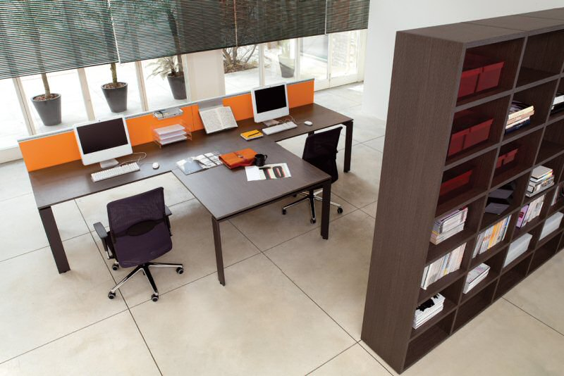 Office furniture zalf contract pratico office for Office furniture layout design
