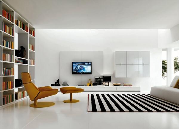 Area giorno moderna zalf mod link system for Zona living moderna