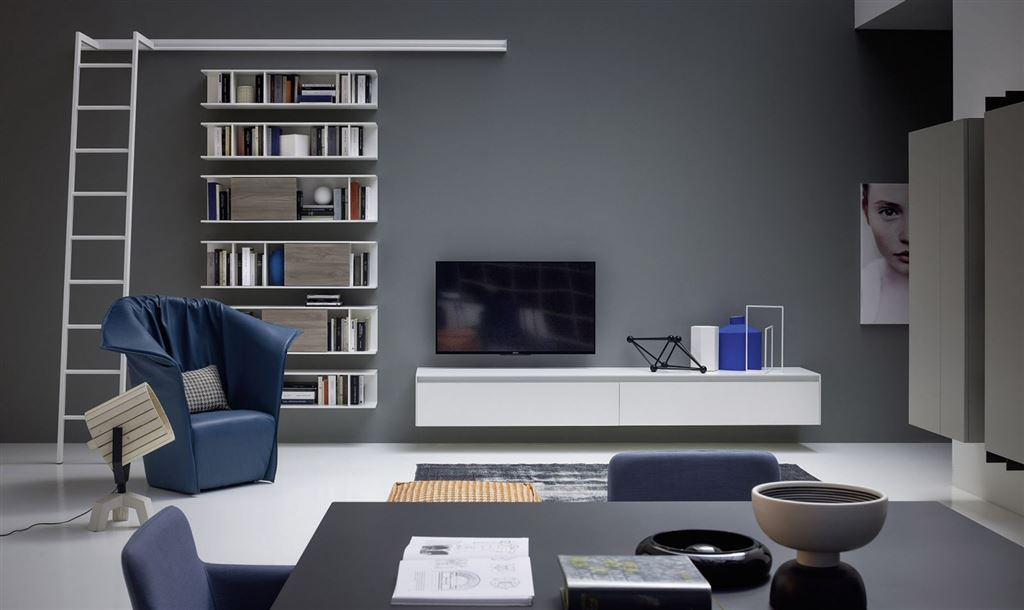 Modern living area novamobili about day for Amazon arredamento