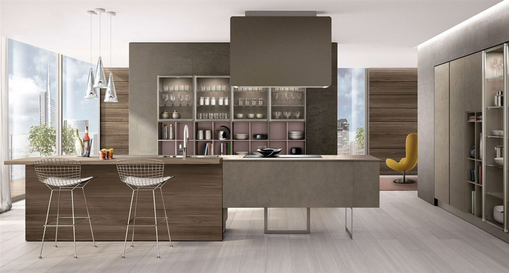 Modern kitchens euromobil mod lain for Contemporary kitchen designs 2016