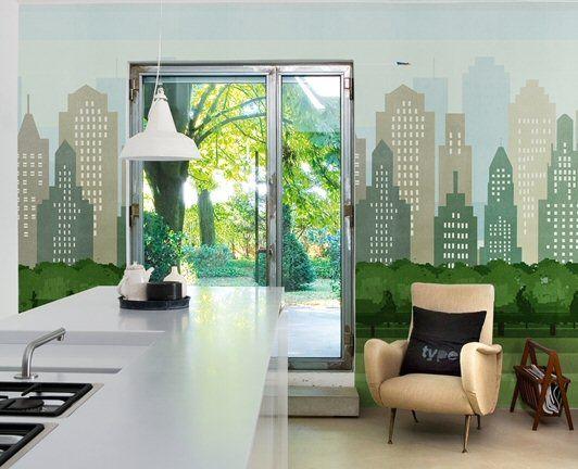 Decorazione wall deco contemporary wallpaper for Blog decorazione interni